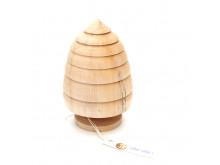 Choinka drewniana 15 cm