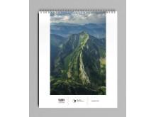 Kalendarz 2019. Tatry z lotu ptaka