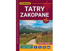 Mapa Tatry Zakopane – kieszonkowa, laminowana - Compass
