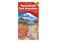 Mapa Tatrzański Park Narodowy - Gauss