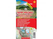 Schematy szlaków turystycznych TATRY POLSKIE - Gauss