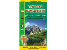 Mapa Tatry Wysokie - Sygnatura