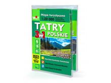 Mapa turystyczna TATRY POLSKIE 3w1 - WIT