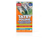 Schematy szlaków turystycznych TATRY POLSKIE (foliowane) - WIT