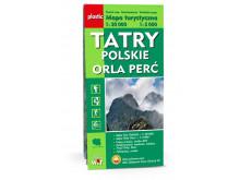 Mapa Orla Perć, Tatry Polskie - WIT