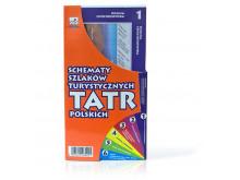 Schematy szlaków turystycznych TATRY POLSKIE - WIT