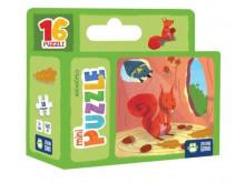 Mini Puzzle Wiewiórka