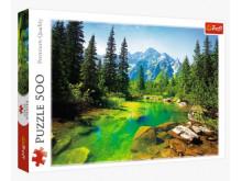 Puzzle Widok na Tatry 500
