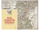 """Reprint Mapy Starostwa Spiskiego + książka """"Mapa Starostwa Spiskiego Franciszka Floriana Czakiego (1762). Zeszyty Tatrzańskie nr 3"""""""